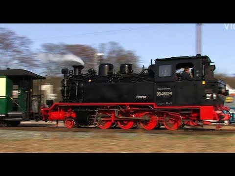 Rügen dampft 1/2 - der Rasende Roland - Dampflok / Steam Train