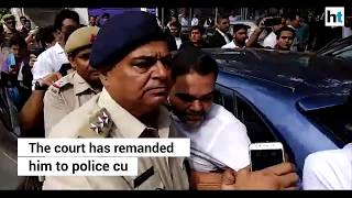 BSP leader's son who brandished gun, surrenders in Patiala House court