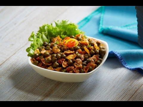 """Breakfast Recipe-Cornflakes Chana Chaat (Kellogg's Waale Guptaji Ki Family ka """"Chugli Wala Nashta"""")"""