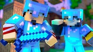 Minecraft: MELHOR ARMADURA  - SKY WARS LUCKY Ep. 1 ‹ AMENIC ›