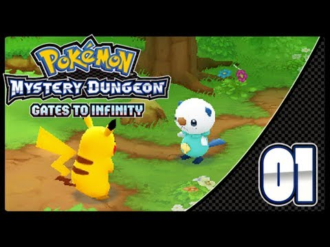 Pokémon Mystery Dungeon: Gates to Infinity - Episode 1 + Giveaway!