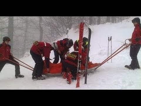 Michael Schumacher Ski Accident In France -Taken Injured To Hospital - Raw Footage