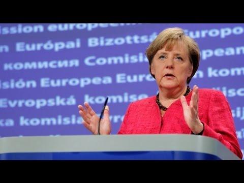 Merkel-Barroso görüşmesinden dayanışma mesajları çıktı