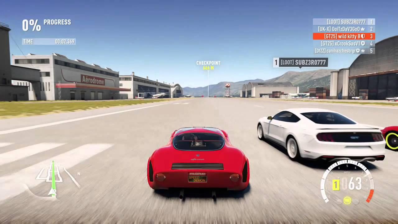 Fastest Car In Forza Horizon  Drag
