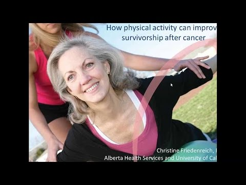 How physical activity can improve survivorship after cancer – February 20, 2015