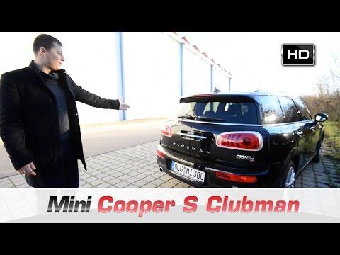 Рассекречен новый универсал MINI Clubman 2 поколения
