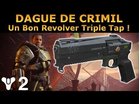 Destiny 2 : Test PVP de la DAGUE DE CRIMIL ! Un Bon Revolver Triple Tap !