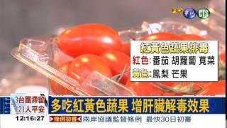 食安連環爆! 吃對蔬果助排毒