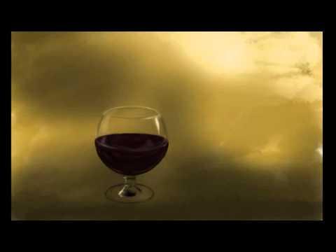 Speed Painting - Wine glass still-life