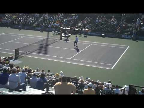 Taylor Dent @ BNP Paribas Open 2009 Video