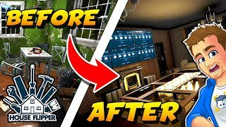 HOUSE FLIPPER GAME - Finishing Our Renovation! Painting, Tiling, Decorating and More!
