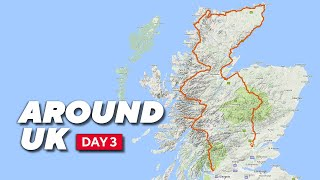 Around UK Ride Day 3 Scotland by Motorcycle in a Day - 16 hrs 685 miles on Metzeler Roadtec 01's