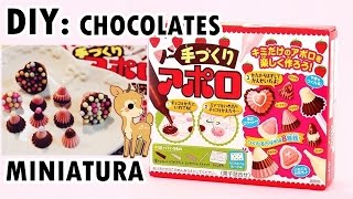 Meiji Chocolate ♥ Popin Cookin / CHOCOLATES MINIATURA