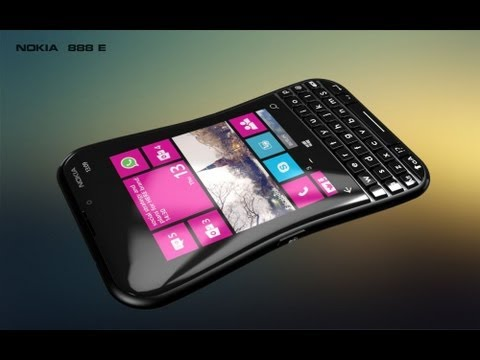 Nokia 888 E QWERTY Touch Handset Combo Features Windows Phone 8 Portico