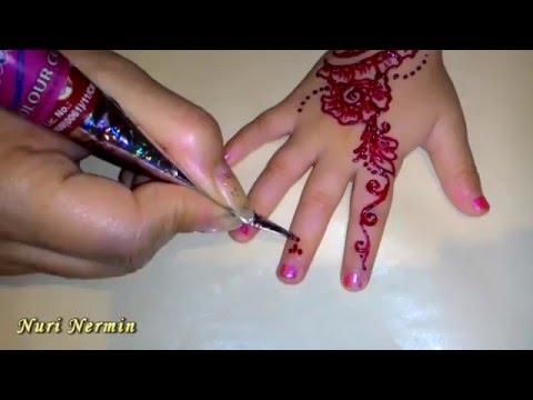 Роспись хной. Henna. Мехенди .