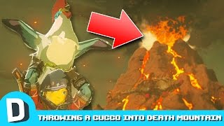 We Throw a Cucco into Death Mountain (Zelda: BotW)