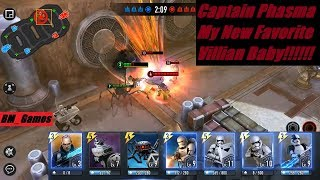 Captain Phasma and Terex Are Too Good Baby!!! Star Wars Force Arena