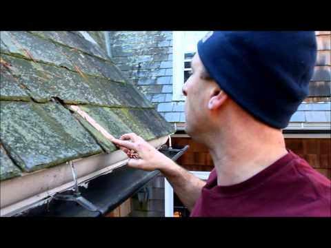 Installing A WarmlyYours Roof / Gutter Deicing System