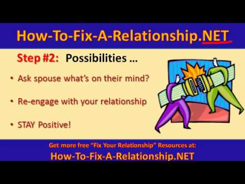 how to fix a breakup relationship