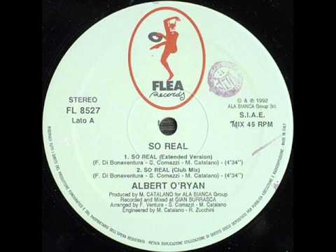 Albert Oryan - So real