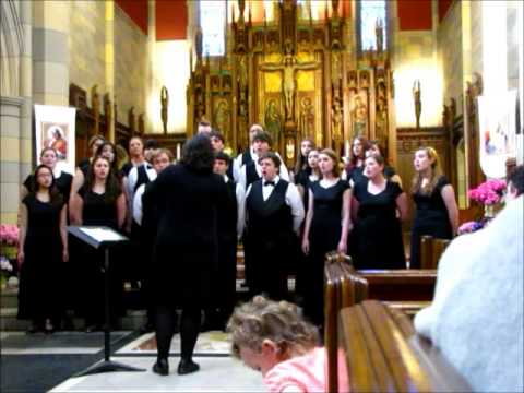 Ave Maria Performed by the Taconic High School Chorus