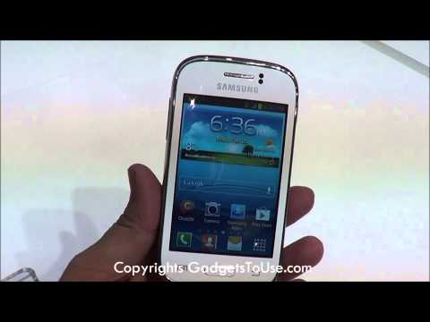 Samsung Galaxy Young Hands on Review at MWC 2013