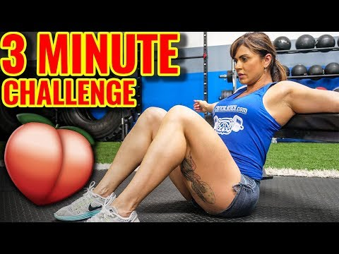 STRONG GLUTES     3-Minute Hip Thrust BOOTY Workout thumbnail