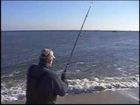 Sandy Hook surf fishing