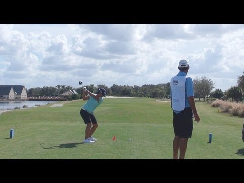 GOLF SWING 2012 - YANI TSENG DRIVER - DOWN THE LINE & SLOW MOTION - HQ 1080p HD 5.1 DOLBY