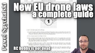 NEW European Union Drone Laws - a complete guide for 2020 changes