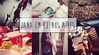 Jana em Buenos Aires - Dias 01 e 02