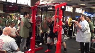 165kg Squat Unequipped Southern Championship