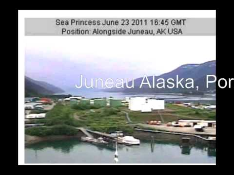 Sea Princess, June 19th, San Francisco roundtrip via Tracy Arm