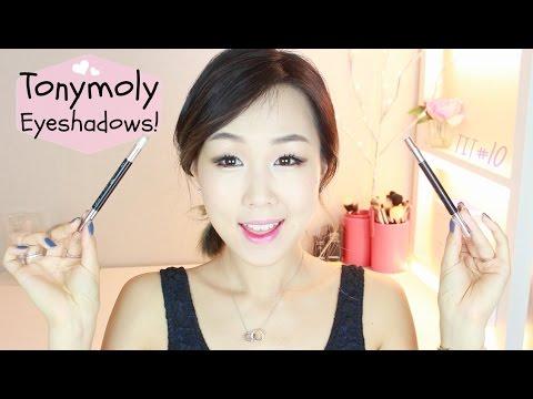Tonymoly Eyeshadows Review! ♥ Delight Circle Lens Makers | 토니모리 아이섀도우 리뷰! #TryItTuesday