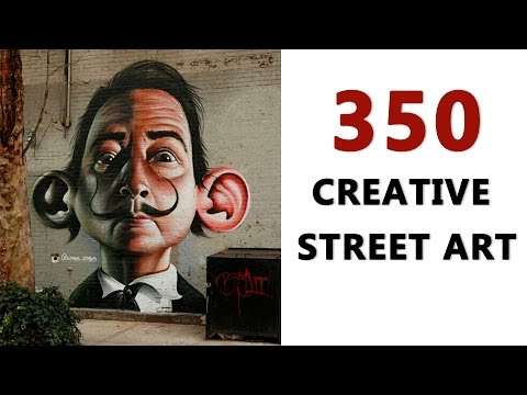 Street Art Pictures - 350 Creative Street Art - Around The World