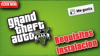 "Requisitos para la Instalación de "" GTA V "" Xbox 360 y PS3 + Detalle"