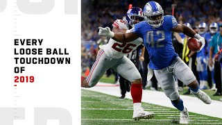 Every Loose Ball TD of 2019 | NFL Highlights