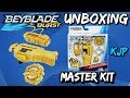 Master Kit (Beyblade Burst Unboxing, QR Codes, and Test!)