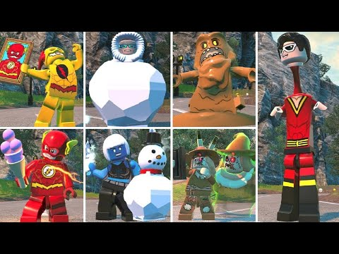 Funny Character Idle Animations in LEGO DC Super-Villains