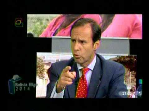 Jorge Tuto Quiroga, entrevista en Bolivia Elige de Bolivia Tv (Parte 2)