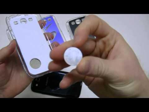 Presentazione Custodie LED luminose per Samsung Galaxy S3 I9300