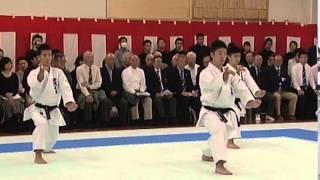 慶應義塾高校団体形演舞
