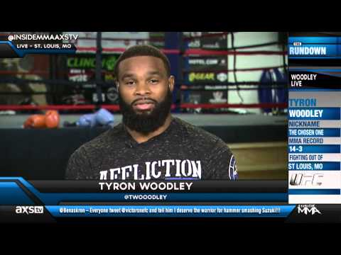 Tyron Woodley Standing His Ground on NOT Fighting Hector Lombard