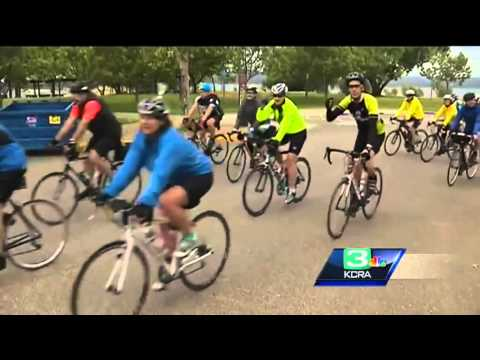 Cyclists kick off 4-day AIDS ride