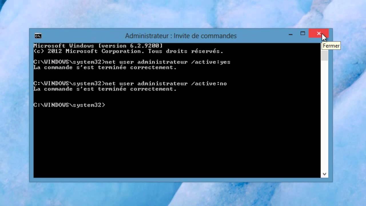 comment devenir administrateur avec windows 8