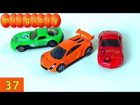 Машинки мультфильм - Город машинок - 37 серия: Учим цвета машин. Развивающие мультики mirglory