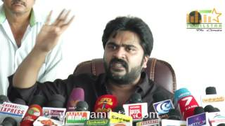 Actor Simbu Press Meet