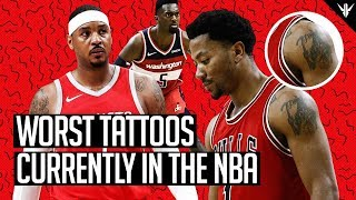7 of the WORST Tattoos in the NBA