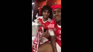 رقص محمد النني ونجوم آرسنال بعد الفوز بكأس الاتحاد الإنجليزي    مسخرة