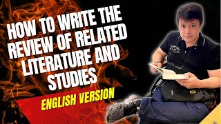 How to write the Review of Related Literature
